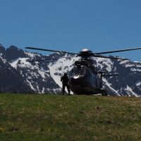 Einen Besuchs- und Erlebnistag in der Schweizer Armee gewonnen