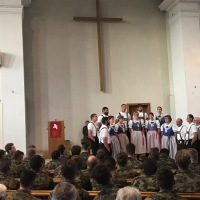 Militärgottesdienst mit dem Schmittechörli Necker